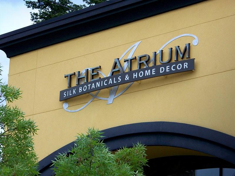Atrium Dim Letters