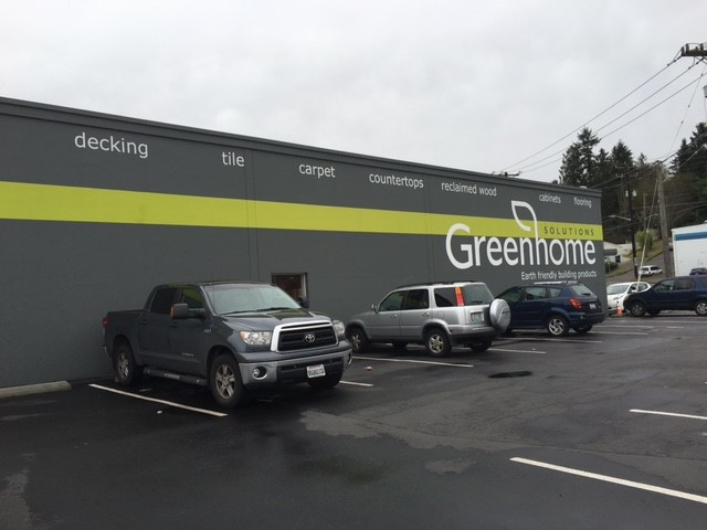 Greenhome Wall Graphic