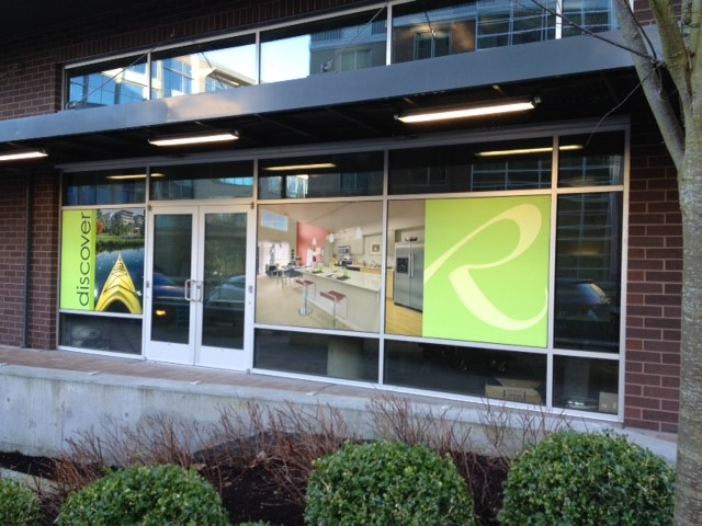 Riverpark Discover Window Graphics